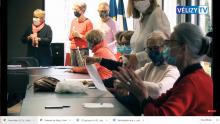 Atelier sur l'alimentation semaine bleue 2020 VELIZY